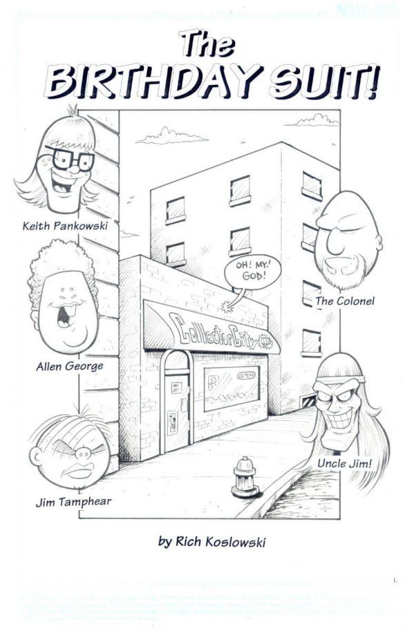 3 Geeks Original Art Rich Koslowski