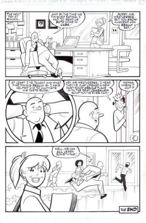 Archie Original Comic Art Rich Koslowski