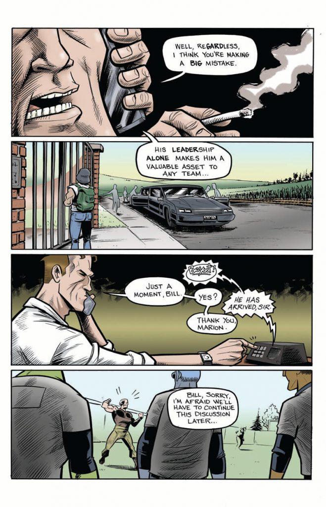 New Graphic Novel Teaser Page Rich Koslowski